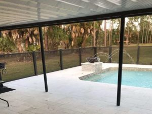 Openview Picture Window screen pool enclosure